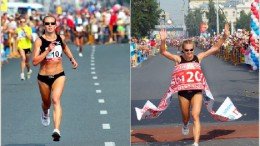Призер марафона