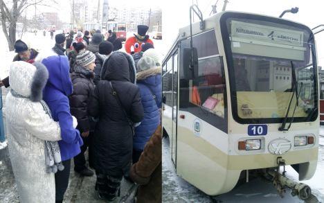 Поэтический трамвай «Весна» - главное не замёрзнуть!