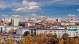 Омск с высоты