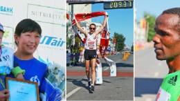 Омский марафон-2011г