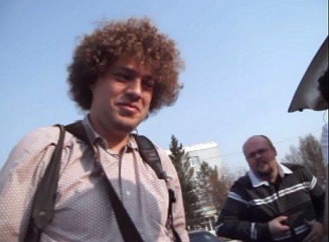 Илья Варламов в омском аэропорту