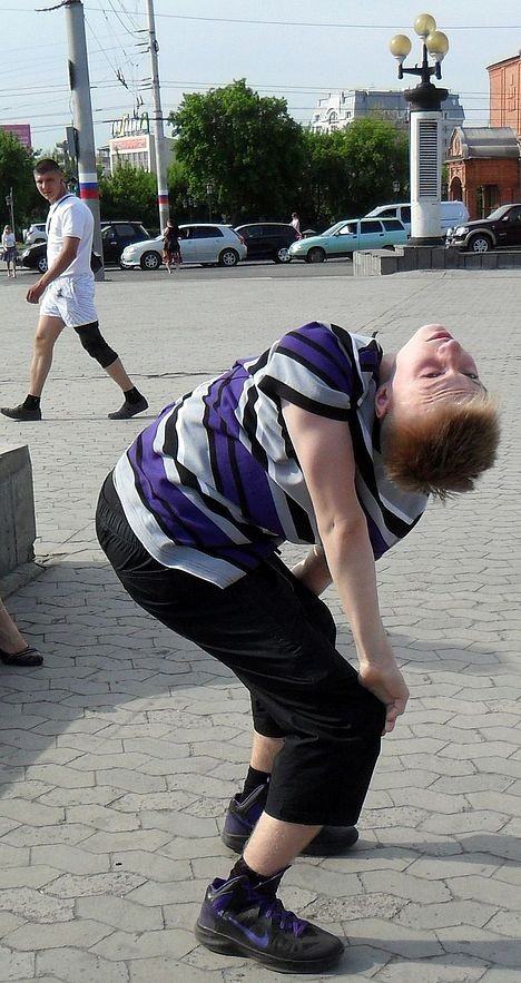 Флексинг на Театральной площади