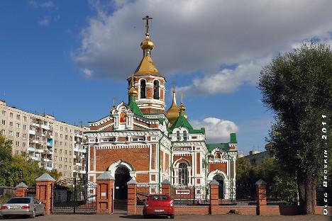 Церковь во имя Святого Николая Чудотворца в Ленинске.