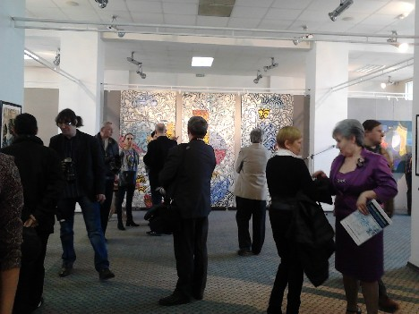 Открытие выставки Александра Май-Дисавенко. 23.04.14