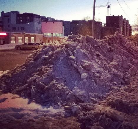 Город-снег