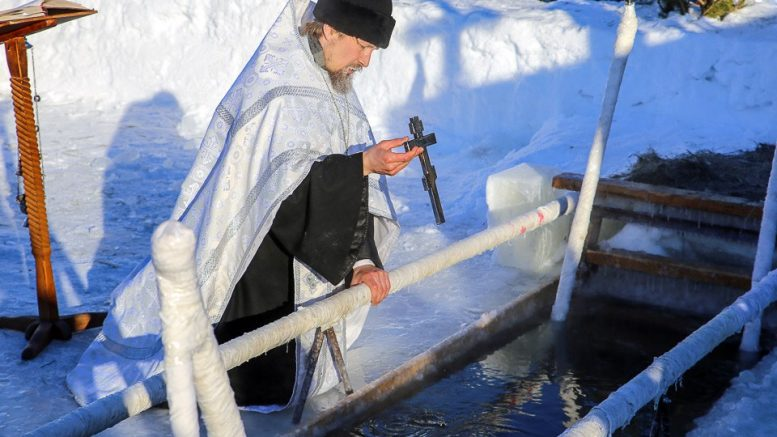 Крещенская купель в Омске