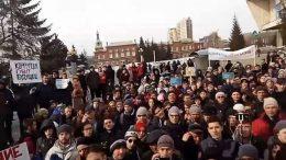 Митинг в Омске 26 марта 2017 года