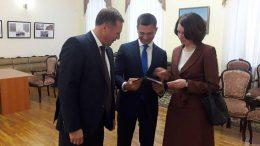 Игорь Антропенко и Оксана Фадина — кандидаты в мэры Омска