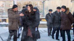 Мэр Омска Оксана Фадина инспектирует метро