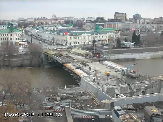 Юбилейный мост на реконструкции
