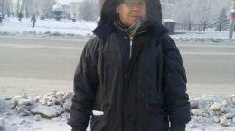 Валентин Кузнецов на «Ледяном марше свободы» 12 декабря 2012 года в Омске