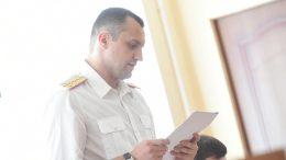 Следователь Алексей Шевчук на процессе по делу Сергея Калинина в Омске