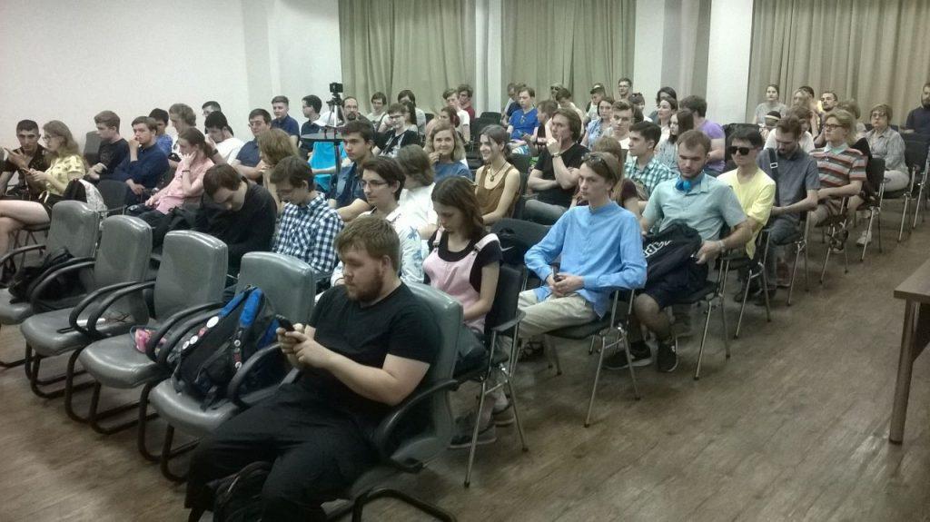 Лекция Михаила Светова в Омске