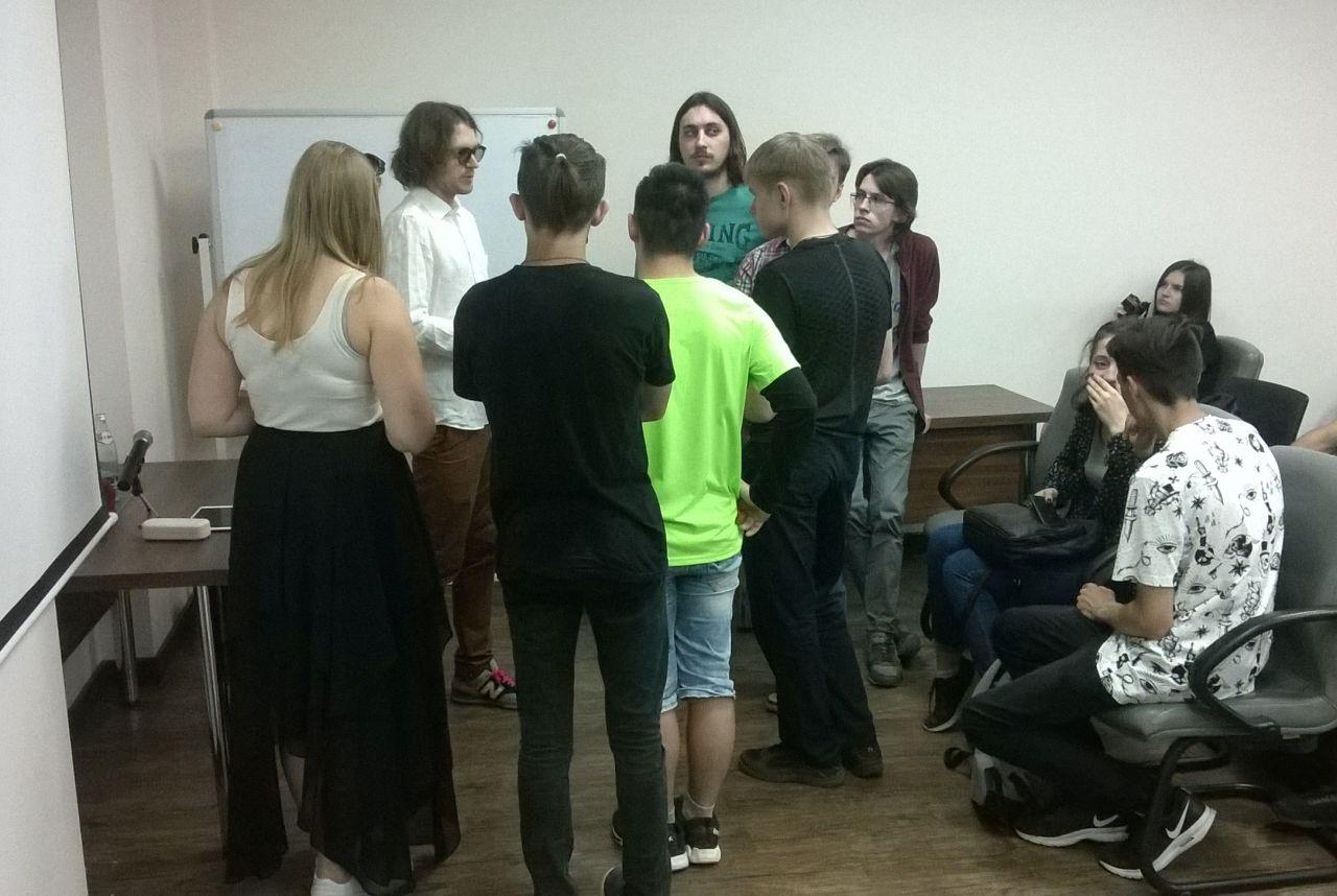 Михаил Светов с омскими сторонниками