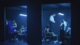 Сцена из спектакля Омского драмтеатра «Синяя борода»