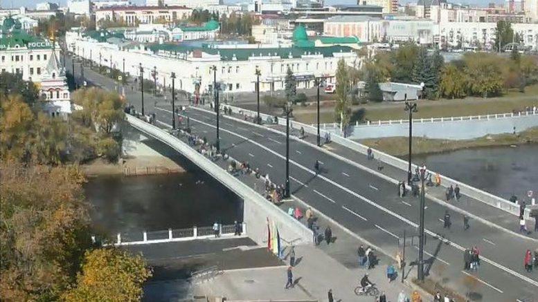 Юбилейный мост. Август 2018