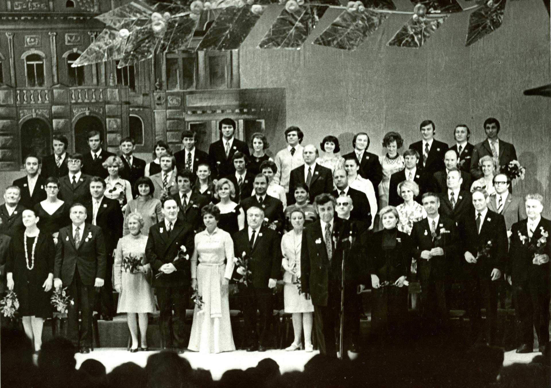 Труппа театра драмы, 1974 г.