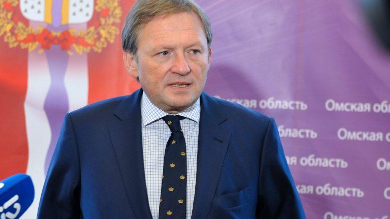 Борис Титов в Омске