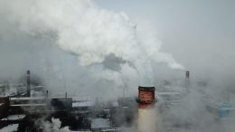 Дымящиеся трубы Омсктехуглерода