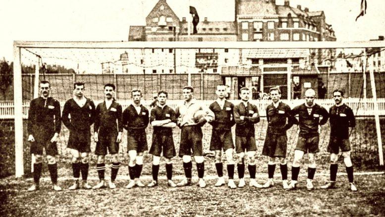 Сборная Российской империи по футболу. 1912 год