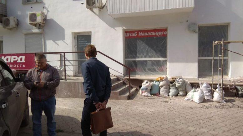 Обыск в штабе Навального в Омске