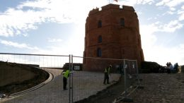 Башня Гедимина на Замковой горе Вильнюса