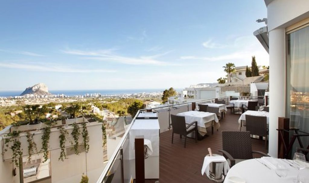 Ресторан на балконе
