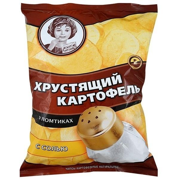 """""""Хрустящий картофель"""" чипсы"""