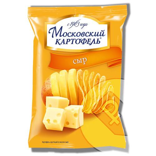 """""""Московский картофель"""" чипсы"""