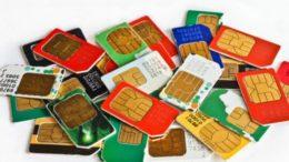 симкарты мобильных операторов