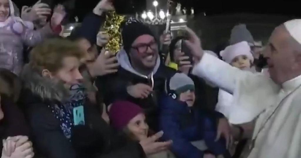 Папа Римский с верянами