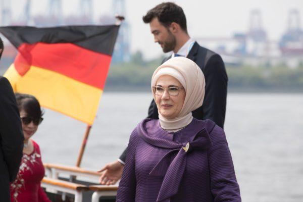 Эмине Эрдоган, жена президента Турции