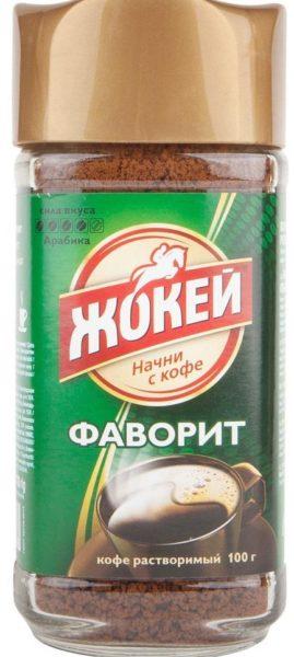 """""""Жокей"""" """"Фаворит"""" кофе"""