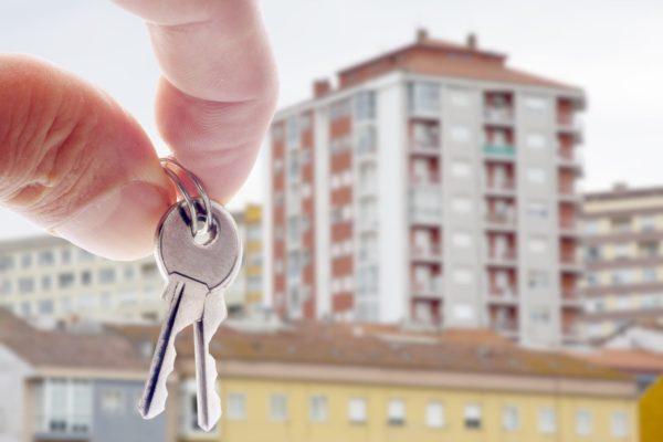 ключи от квартиры в новострое