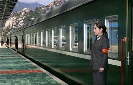 поезд Ким Чен Ына