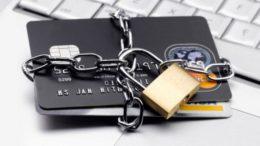 банковские карты под замком