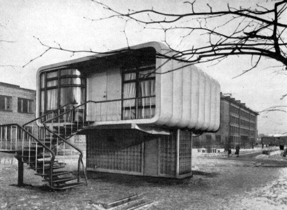 Пластмассовый дом
