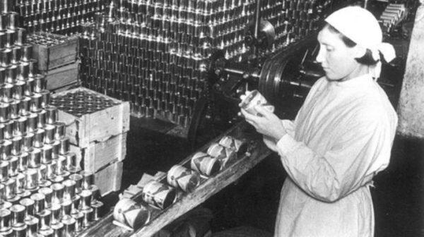 производство сгущенное молока СССР